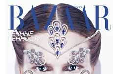 Bejeweled Beauty Editorials