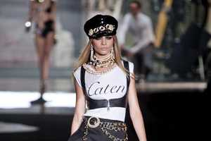 the DSquared2 Spring 2013 Channels Old Italy at Milan Fashion Week