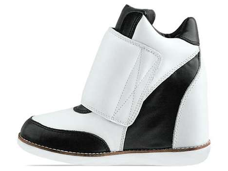 Deceiving Wedged High Heels - The Jeffrey Campbell Teramo Sneakers Feature a Hidden Platform