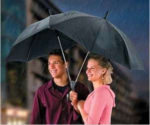 Couple-Friendly Tandem Parasols