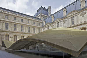 The Islamic Art Galleries at the Louvre Museum are Covered in Curves