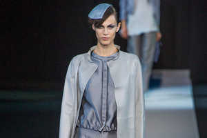 Giorgio Armani Spring 2013 Plays with Minimalist Structure
