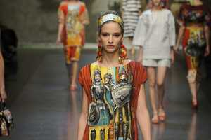 The Dolce & Gabbana Spring 2013 Collection is Color-Centric