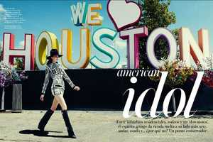 The Vogue Spain 'American Idol' Editorial Honors the USA