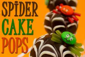 Serve up Some Spider-Inspired Halloween Cake Pops This Year