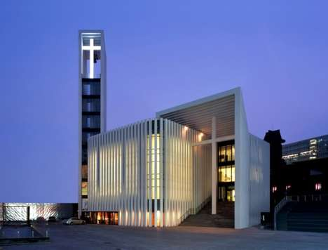 75 Unconventional Worship Constructions - From Inflatable Churches to Angular Arboreal Sanctuaries