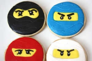 Lego Ninjago Cookies are the Perfect Treat for Little Assassins