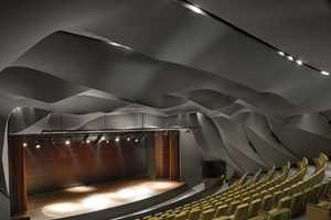 The Masrah Al Qasba Theatre Boasts and Unconventional Ceiling