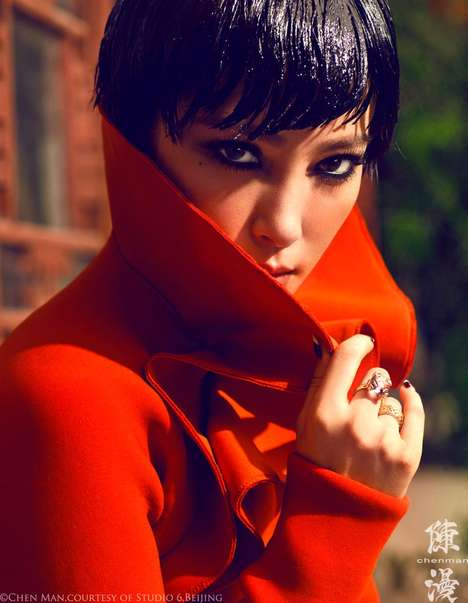 Vogue China October 2012