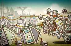 Surreal Robot Videos