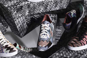 The Missoni Converse Fall/Winter 2012 Collection is Bold