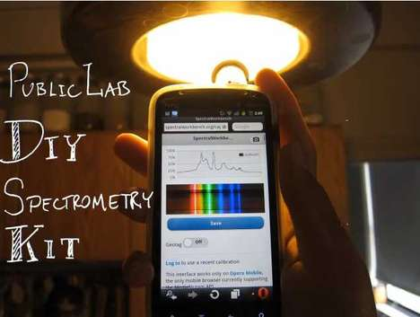 diy spectrometry kit