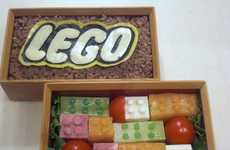 Building Block Lunch Sets - The LEGO Bento Box Makes it Socially Acceptable to Play With Your Food