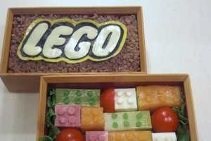 The LEGO Bento Box Makes it Socially Acceptable to Play With Your Food