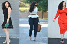 Voluptuous Style Blogs - Tanesha Awasthi's 'Girl With Curves' Blog Caters to Shape