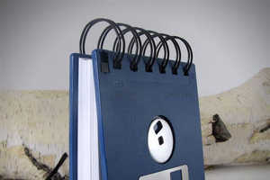 This Floppy Disk Notebook is the Ultimate Memo Pad for Computer Nerds