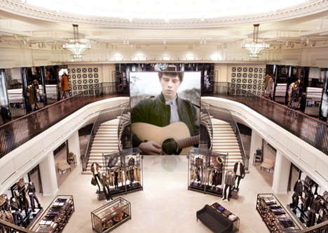 Burberry Regent Street Store 