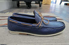 Revamped Nautical Footwear - Engineered Garments Fall/Winter 2012 Collection Salutes the Boat Shoe