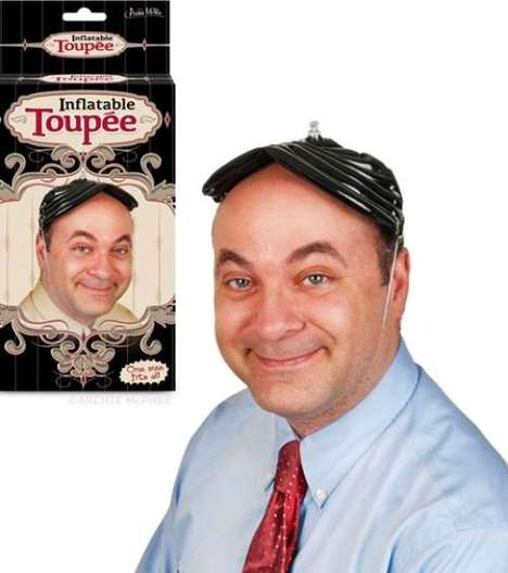 inflatable toupee