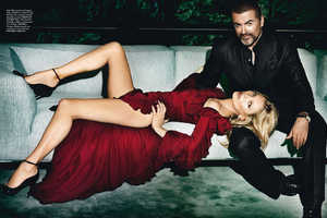 The George Michael and Kate Moss Vogue Paris Feature is Divine