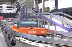 Waitless Luggage Claim Devices - The Baggage Tray System Promises 100% Accuracy with Fast Deliveries