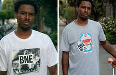 Philanthropic Caricature T-Shirts