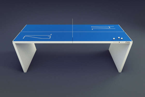 18 odd table tennis sets - Table basse high tech ...