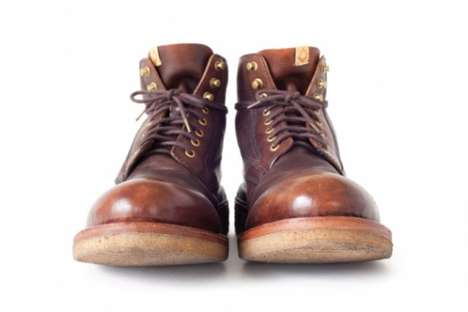 Wilderness-Approved Footwear - Visvim's Virgil Boots Crepe-Folk are Lovely for Strenuous Adven