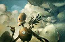 30 Examples of Robot Art