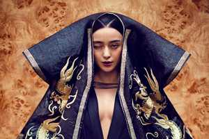 The i-D Magazine Fan Bingbing Feature Decadent Attire