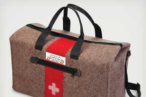 The Genuine Swiss Army Blanket Duffel is Both Rugged and Revered