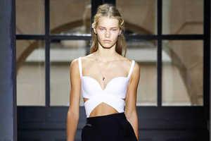 Balenciaga Spring 2013 Catwalk Showcases Elegant Menswear-Inspired Pieces