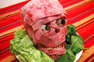 Eat Your Brains Out Any Time with the DIY Edible Skull