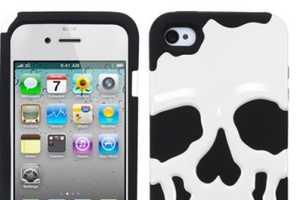The iPhone Skull Case is a Ghoulishly Great Halloween iPhone Case