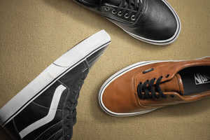 The Vans Classics Aged Leather Footwear Line is a Perfect Skater Find