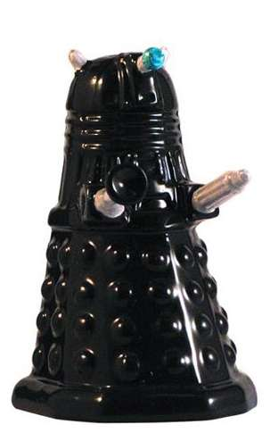 Tardis Dalek Salt and Pepper Shakers