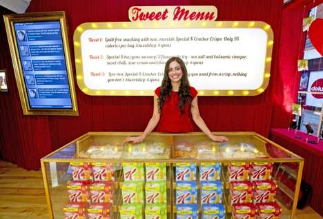 Special K Tweet Shop Gives You Free Food for a Friendly Post