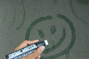 The Grime Writer Pen Lets You Simultaneously Practice Graffiti and Clean