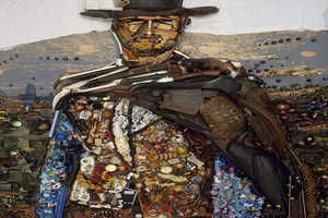 Bernard Pras Creates Stunning Art From Recycled Trash