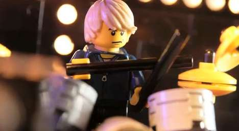 LEGO Houdini Music Video