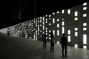 Unidisplay by Carsten Nicolai Has Guests Gazing Into Infinity