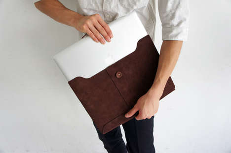 Macbook leather cases