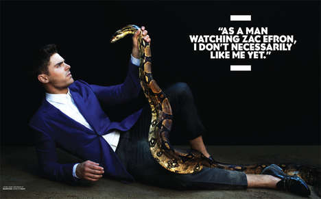 Zac Efron for BlackBook Magazine