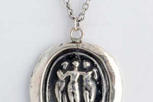 Pyrrha Jewelry Distributes Intricate 19th Century Pendants