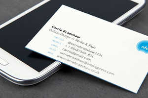 The NFC Business Cards Keep Your Contacts Connected