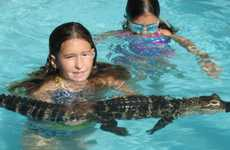 The Alligator Pool Party is Excitingly Exotic