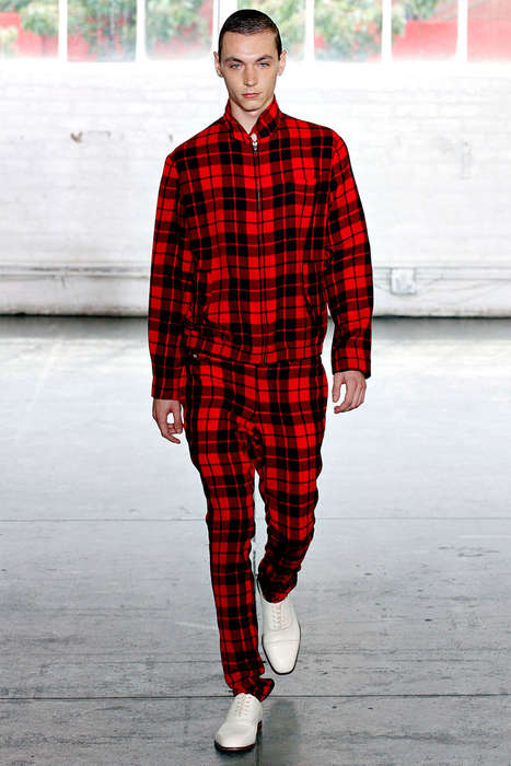 plush plaid looks