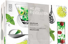 Scientific Beverage Kits - The Mojito R-Evolution Molecular Mixology Set Mixes Up the Medicine