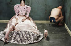 Disturbing Couture Editorials