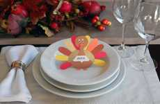DIY Turkey Ornaments - Dinner Guests are Sure to Gobble Up These Thanksgiving Place Cards